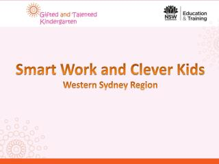Smart Work and Clever Kids Western Sydney Region