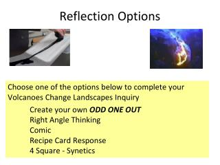 Reflection Options
