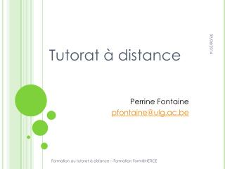 Tutorat   distance