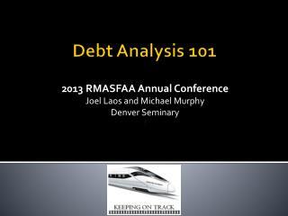 Debt Analysis 101