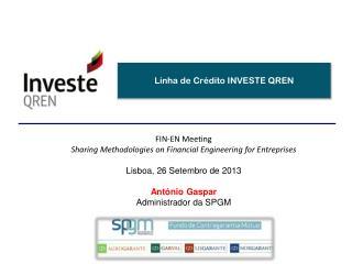 Linha de Crédito INVESTE QREN
