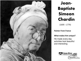 Jean- Baptiste Simeon  Chardin