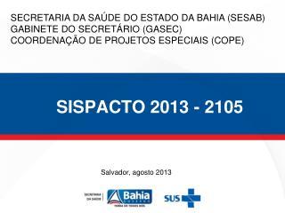 SISPACTO 2013 - 2105
