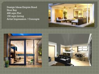 Design Ideas Empire Road Hout  Bay 486  sqm  Plot 150  sqm  Living Artist  Impression / Concepts