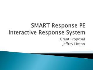 SMART Response PE Interactive Response System