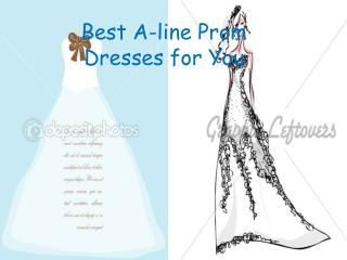Fashionable A-line Prom Dresses for You 2012