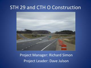 STH 29 and CTH O Construction