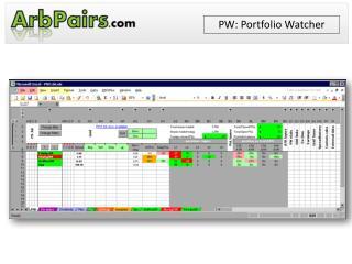 PW: Portfolio Watcher
