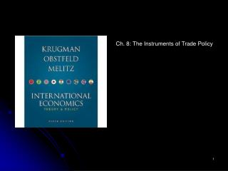 Ch. 8: The Instruments of Trade Policy