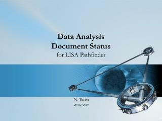 Data Analysis Document Status for LISA Pathfinder