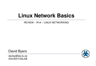 Linux Network Basics