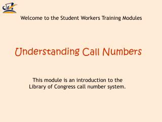 Understanding Call Numbers