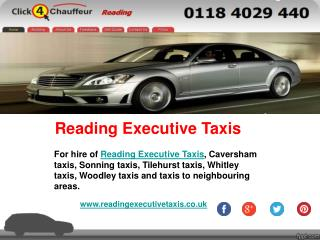Reading Taxis - Reading Executive Taxis