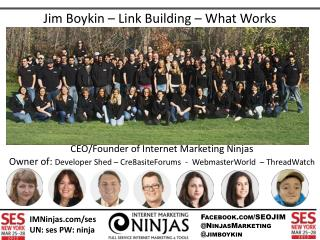 Jim Boykin – Link Building – What Works