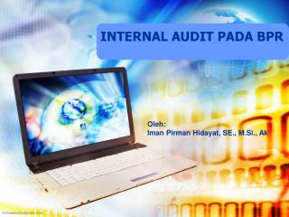 INTERNAL AUDIT PADA BPR