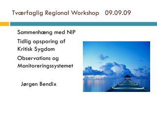 Tv�rfaglig Regional Workshop   09.09.09