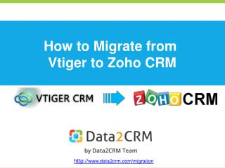 How to Move Vtiger to Zoho CRM with Ease
