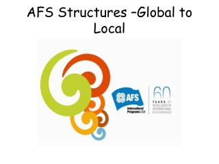 AFS Structures –Global to Local
