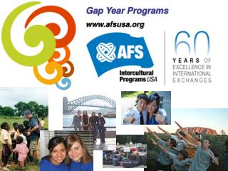 Gap Year Programs afsusa