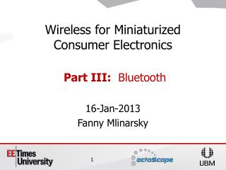 16-Jan-2013 Fanny Mlinarsky
