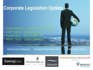Corporate Legislation Update