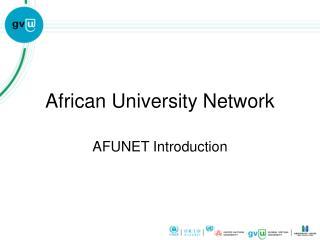 African University Network