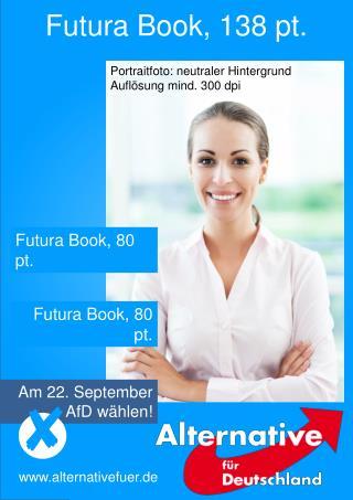 Futura Book, 138 pt.