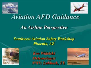 Aviation AFD Guidance
