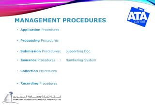 Management Procedures