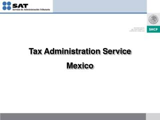 Tax Administration Service Mexico