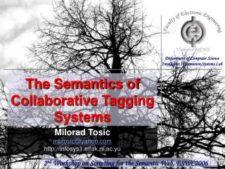 The Semantics of Collaborative Tagging Systems