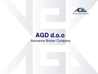 AGD d.o.o Insurance Broker Company