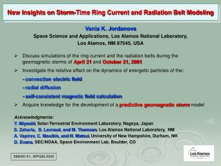 New Insights on Storm-Time Ring Current and Radiation Belt Modeling