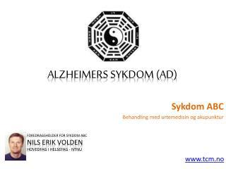 Sykdom ABC - Alzheimer