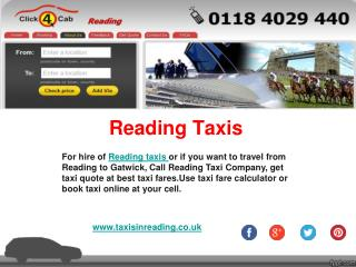 Taxis In reading - Reading Taxis