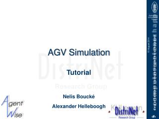 AGV Simulation
