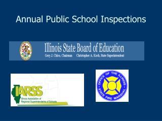 Annual Public School Inspections