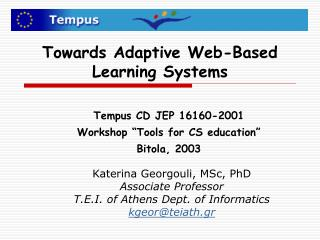 Towards Adaptive Web-Based Learning Systems