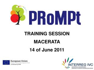 TRAINING SESSION  MACERATA 14 of June 2011