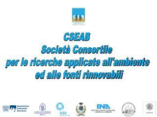 CSEAB  Società Consortile  per le ricerche applicate all'ambiente  ed alle fonti rinnovabili