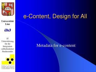 e-Content, Design for All