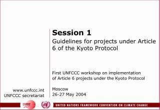 unfccct UNFCCC secretariat