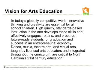 Vision for Arts Education