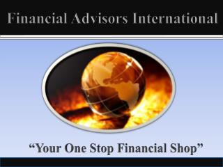 Financial Advisors International