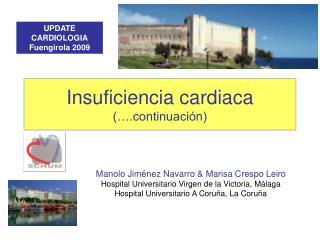 Insuficiencia cardiaca (….continuación)