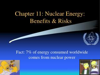 Chapter 11: Nuclear Energy: