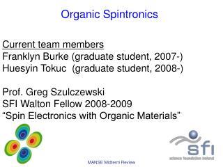 O rganic Spintronics