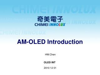 AM-OLED Introduction