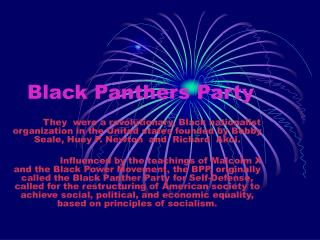 Black Panthers Party