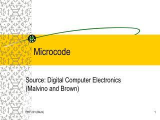 Microcode